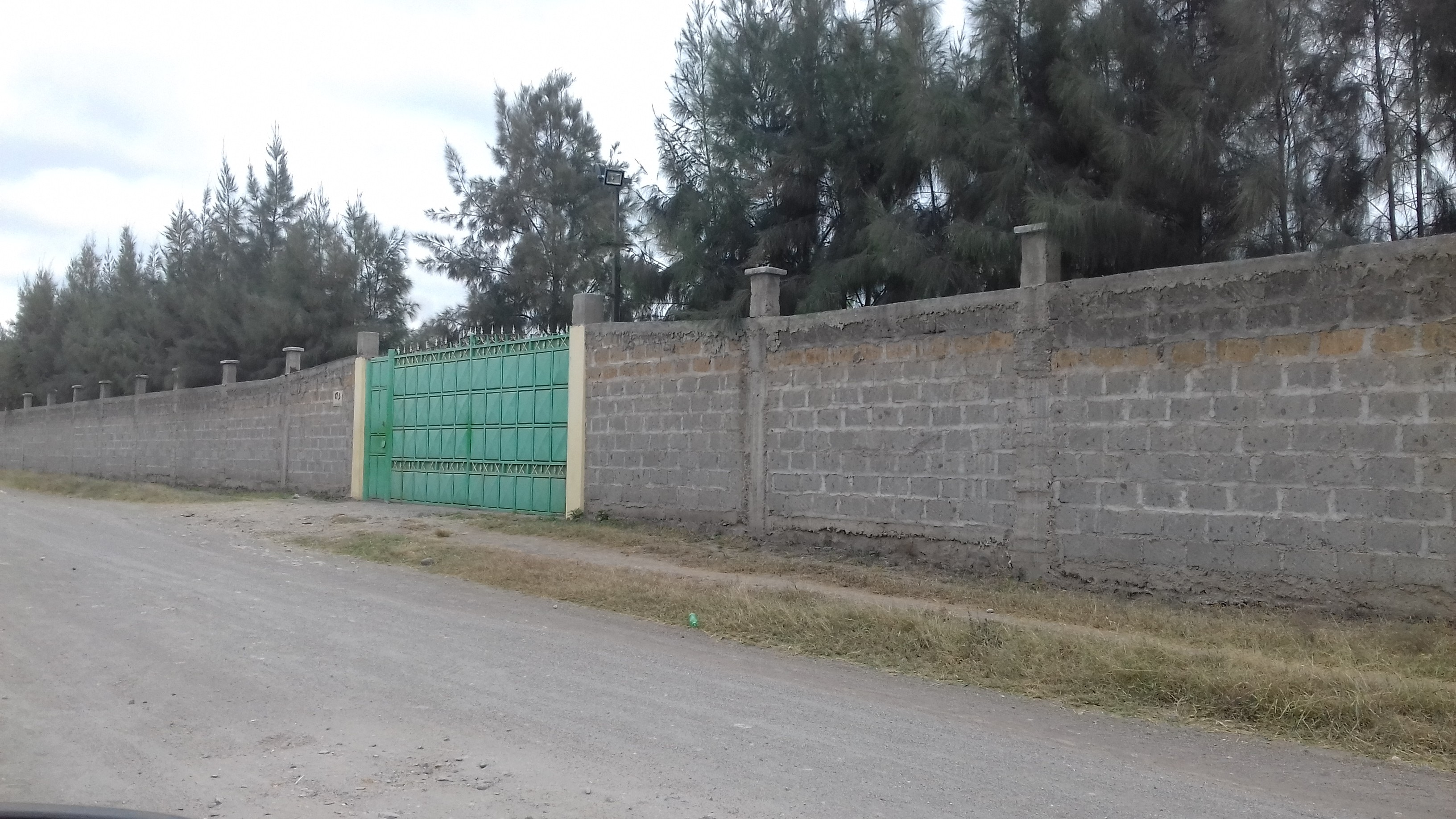 This is the pharmaceutical company, Njimia Kenya Ltd where Star team was chased away along Maasai Road, off Namanga highway on August 15.